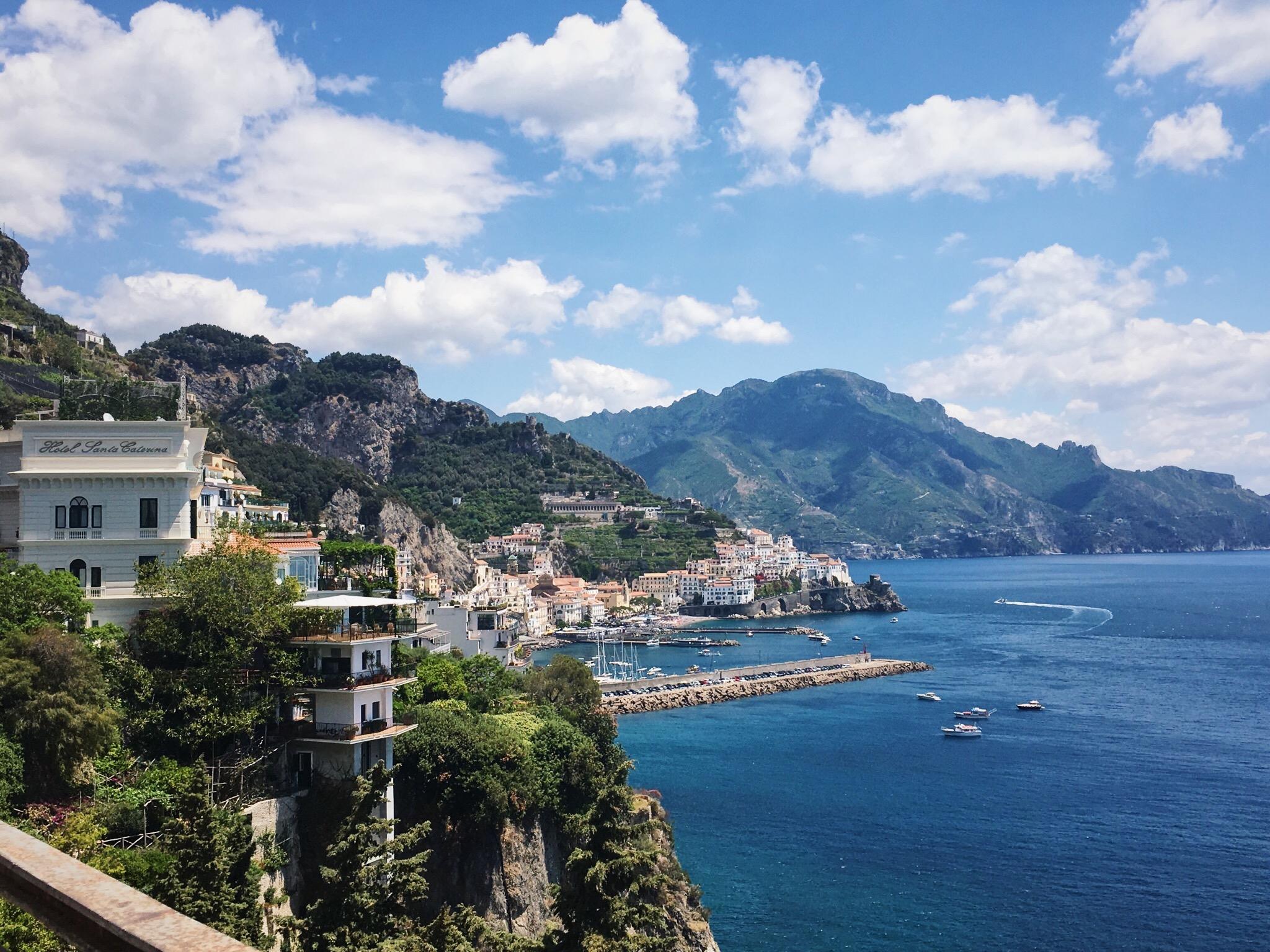 Costa Amalfitana. Lolanoviajasola. Amalfi