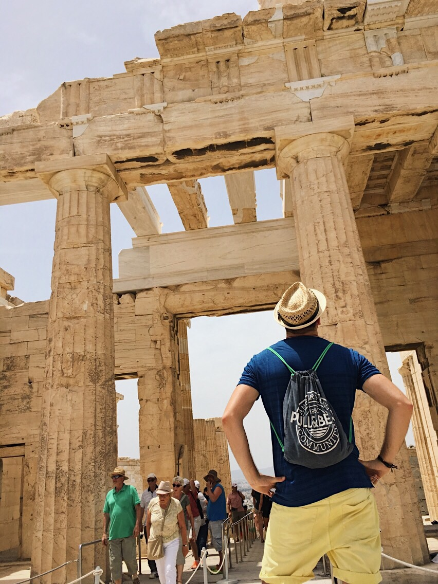 templo de Erecteión. Atenas. Acropolis. Lolanoviajasola