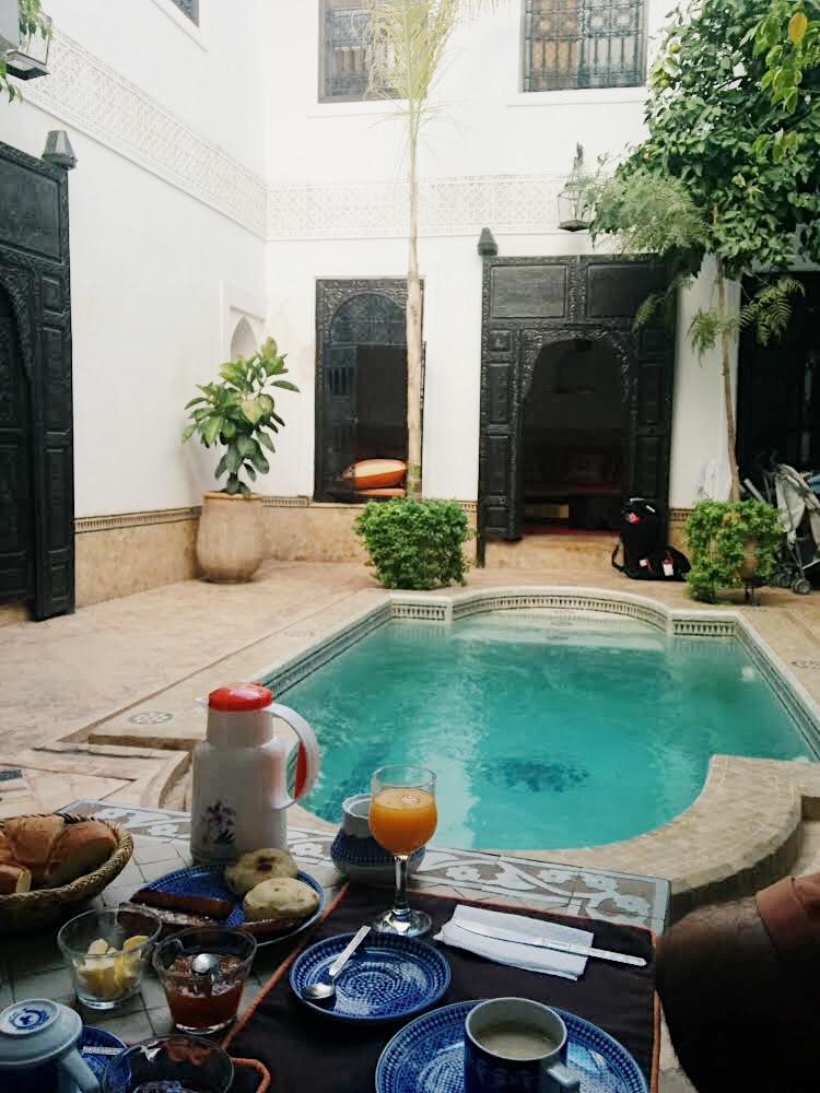 Marruecos Desayuno en Rihad by Lolanoviajasola