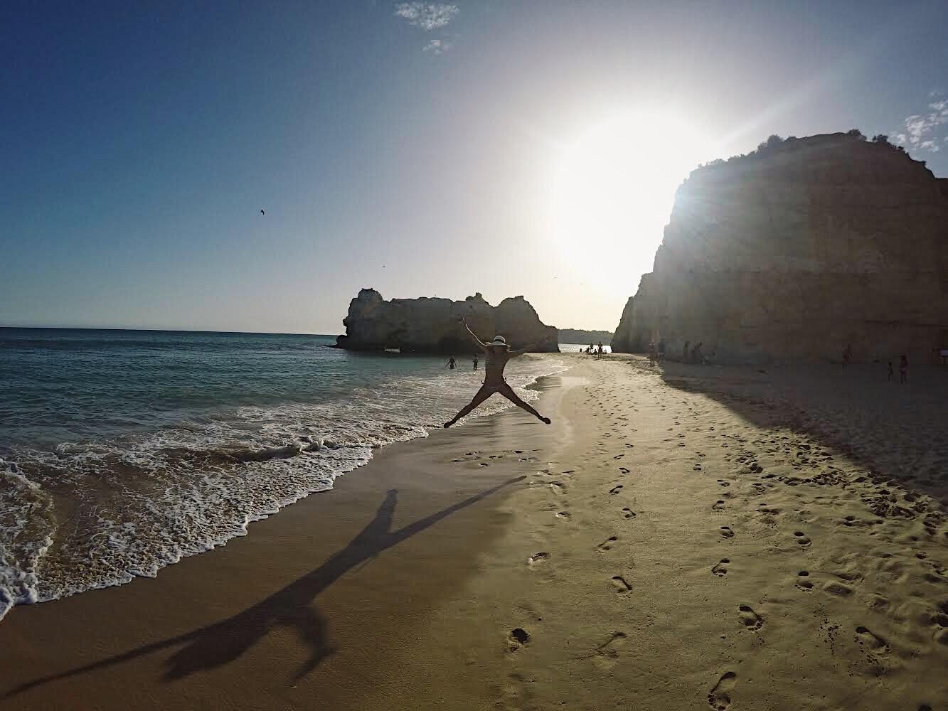 praiaPorto de Mos Portugal Lolanoviajasola