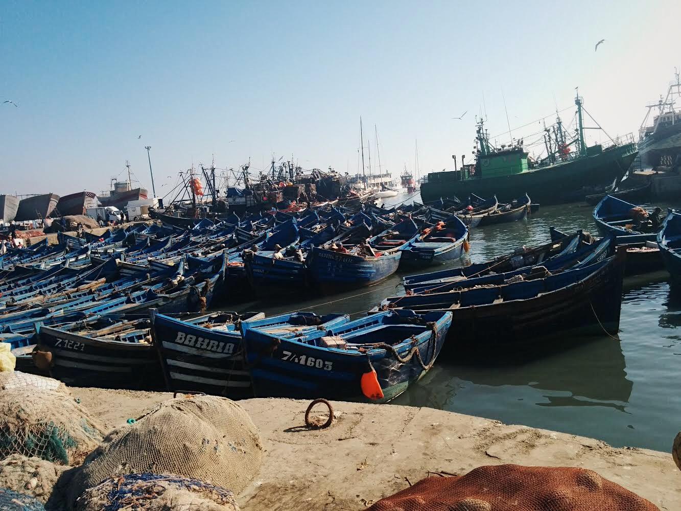 Marruecos Puerto de Essaouira by Lolanoviajasola