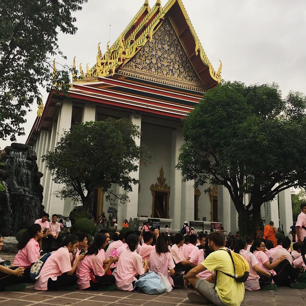 Lost in translation en el Palacio Real de Bangkok