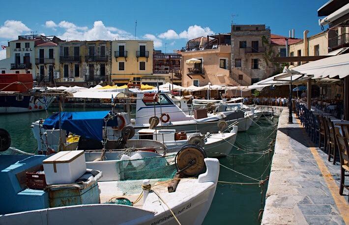 Puerto veneciano de Rétino. Creta by Lolanoviajasola