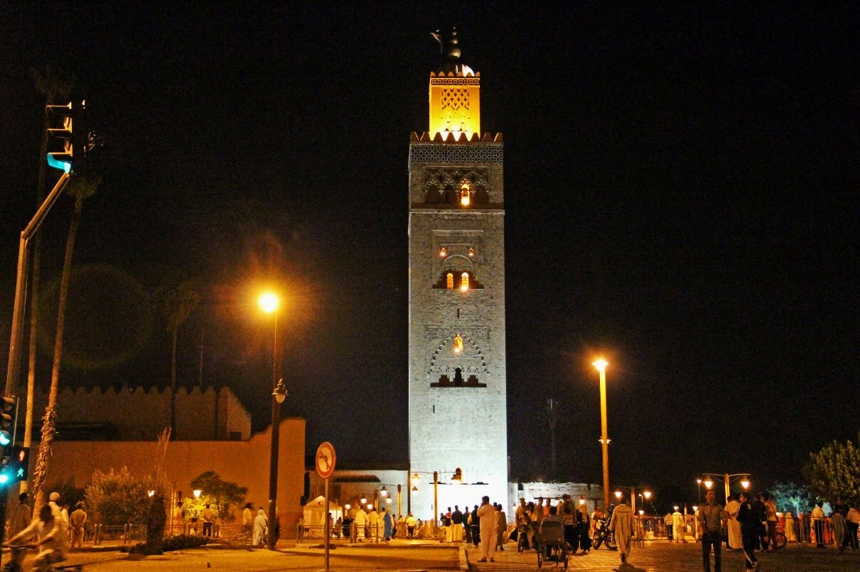 MArruecos Mezquita Koutoubia, Marrakech