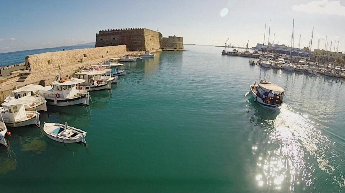Fortaleza de Heraklion lolanoviajasola creta