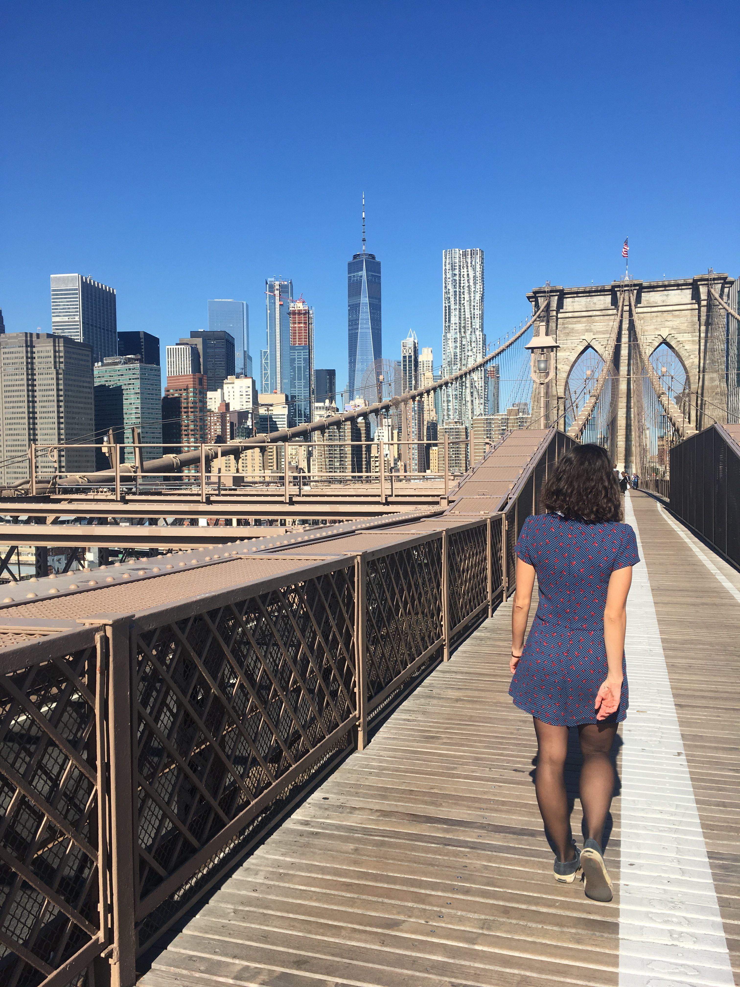 lolanoviajasola puente de brooklyn nueva york