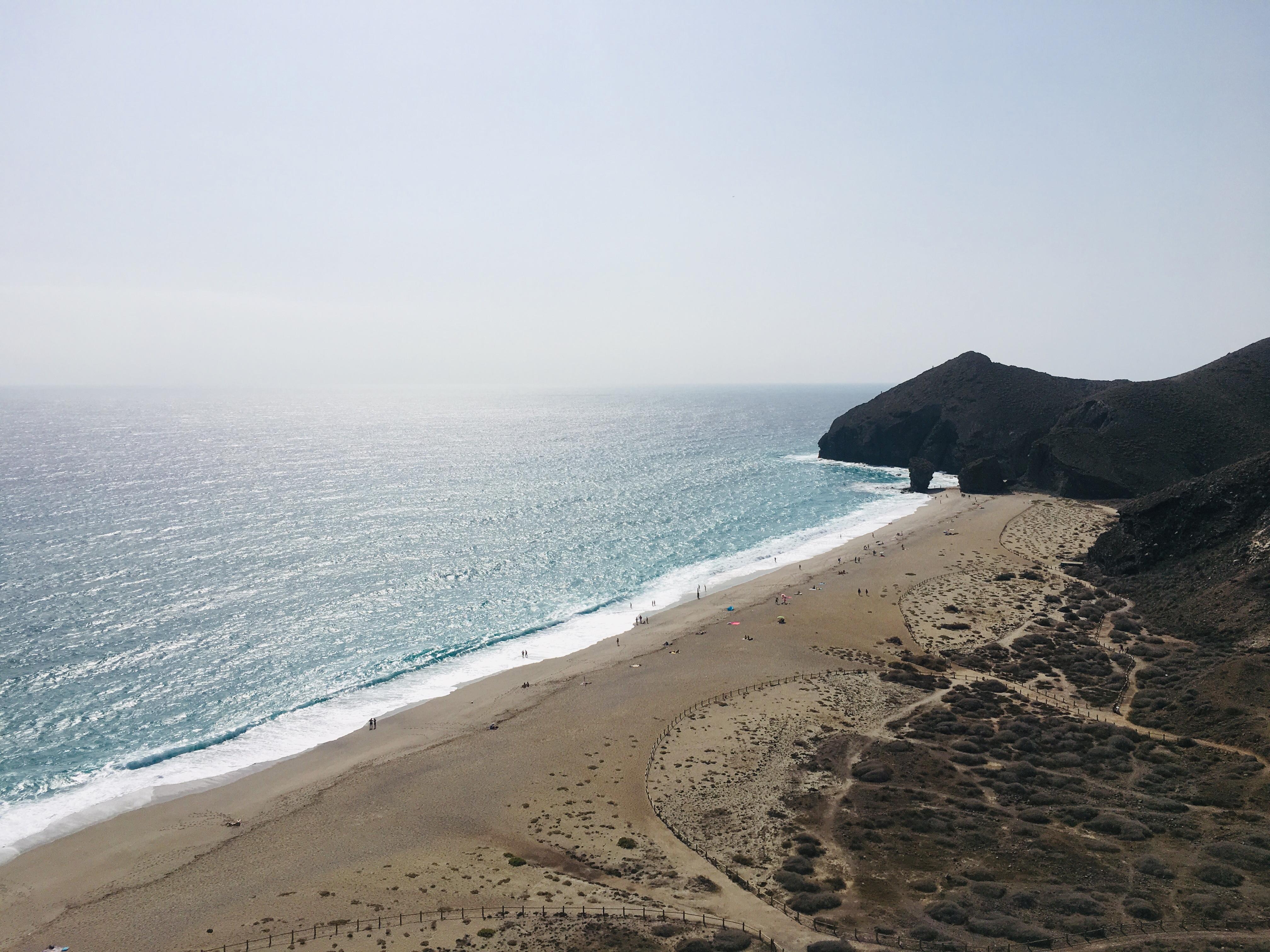 lolanoviajasola playa de los muertos almeria cabo de gata